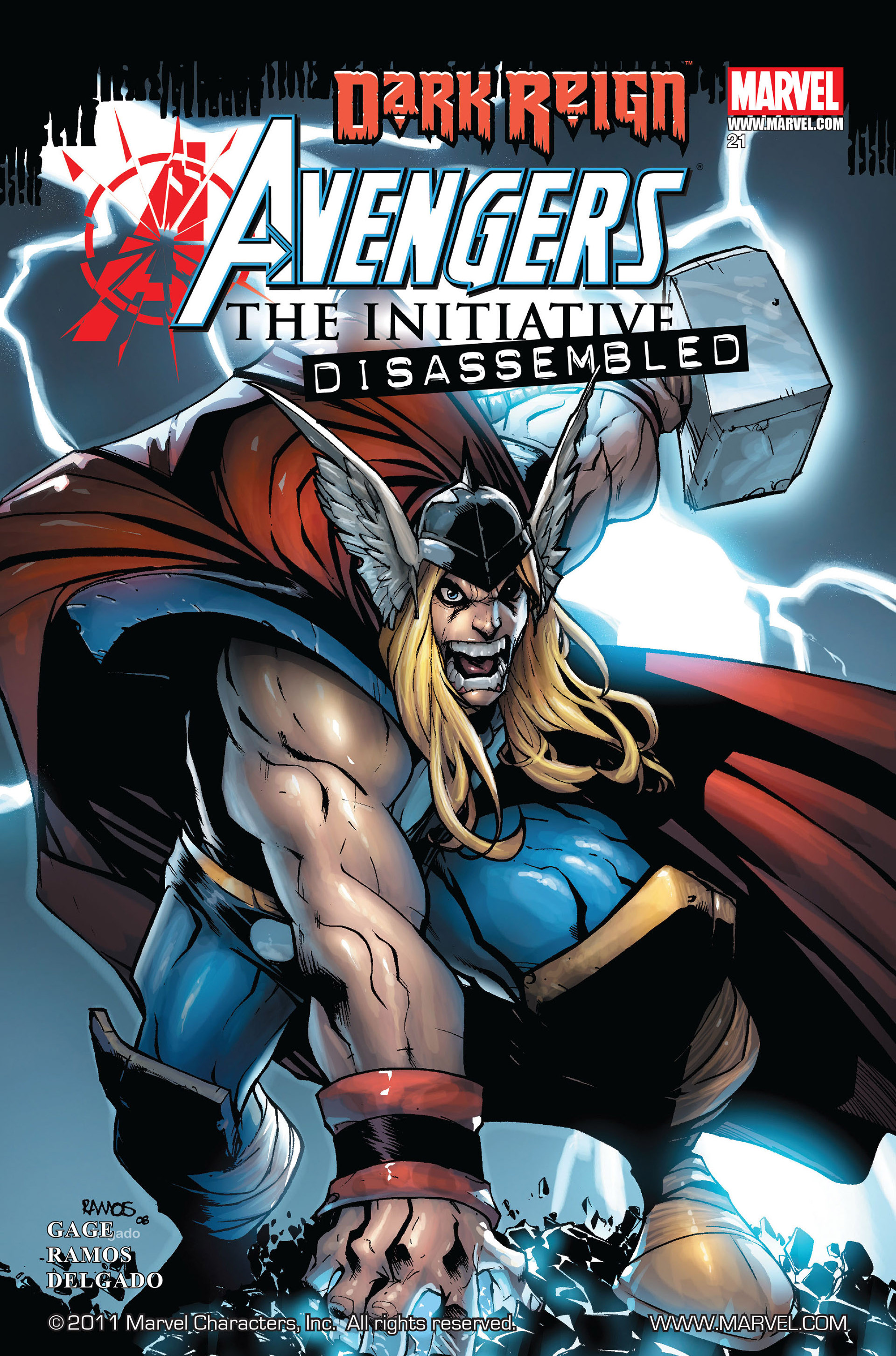 Avengers: The Initiative Vol 1 21
