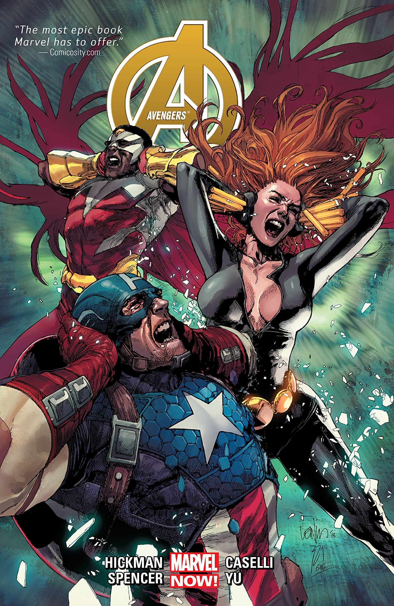 Avengers by Jonathan Hickman Vol 1 2