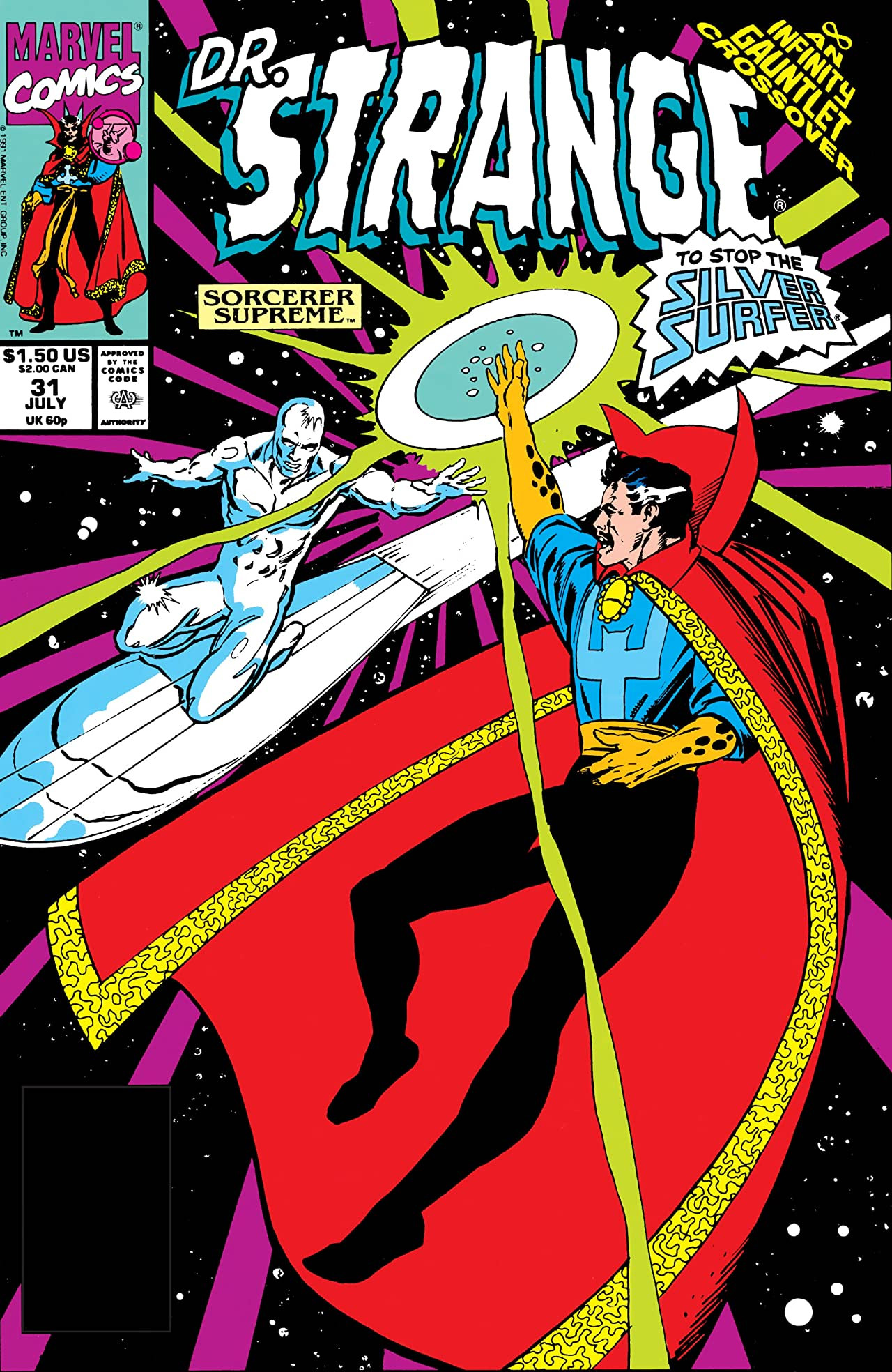 Doctor Strange, Sorcerer Supreme Vol 1 31