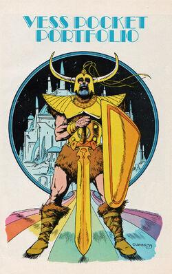 Heimdall (Earth-616) Pin-Up from Marvel Fanfare Vol 1 20 0001.jpg