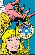 Illyana Rasputina (Earth-616) and Belasco (Earth-616) from Uncanny X-Men Vol 1 160 001