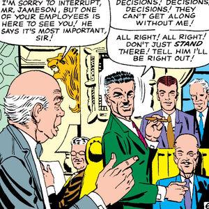 John Jonah Jameson, Midtown Business Executives Club, Norman Osborn (Earth-616) from Amazing Spider-Man Vol 1 23.jpg