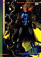 Johnathon Blaze (Earth-616) from Marvel Universe Cards Series IV 0001