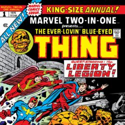 Marvel Two-In-One Annual Vol 1 1