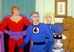 Max Eisenhardt (Earth-78909) and Fantastic Four (Earth-78909) from Fantastic Four (1978 animated series) Season 1 2 0001.jpg