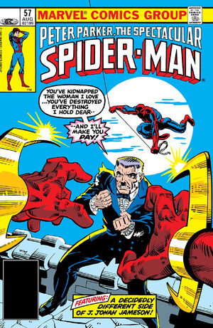 Peter Parker, The Spectacular Spider-Man Vol 1 57.jpg