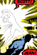 Phoenix Force as Jean Grey and Scott Summers (Earth-616) from X-Men Vol 1 137 0002