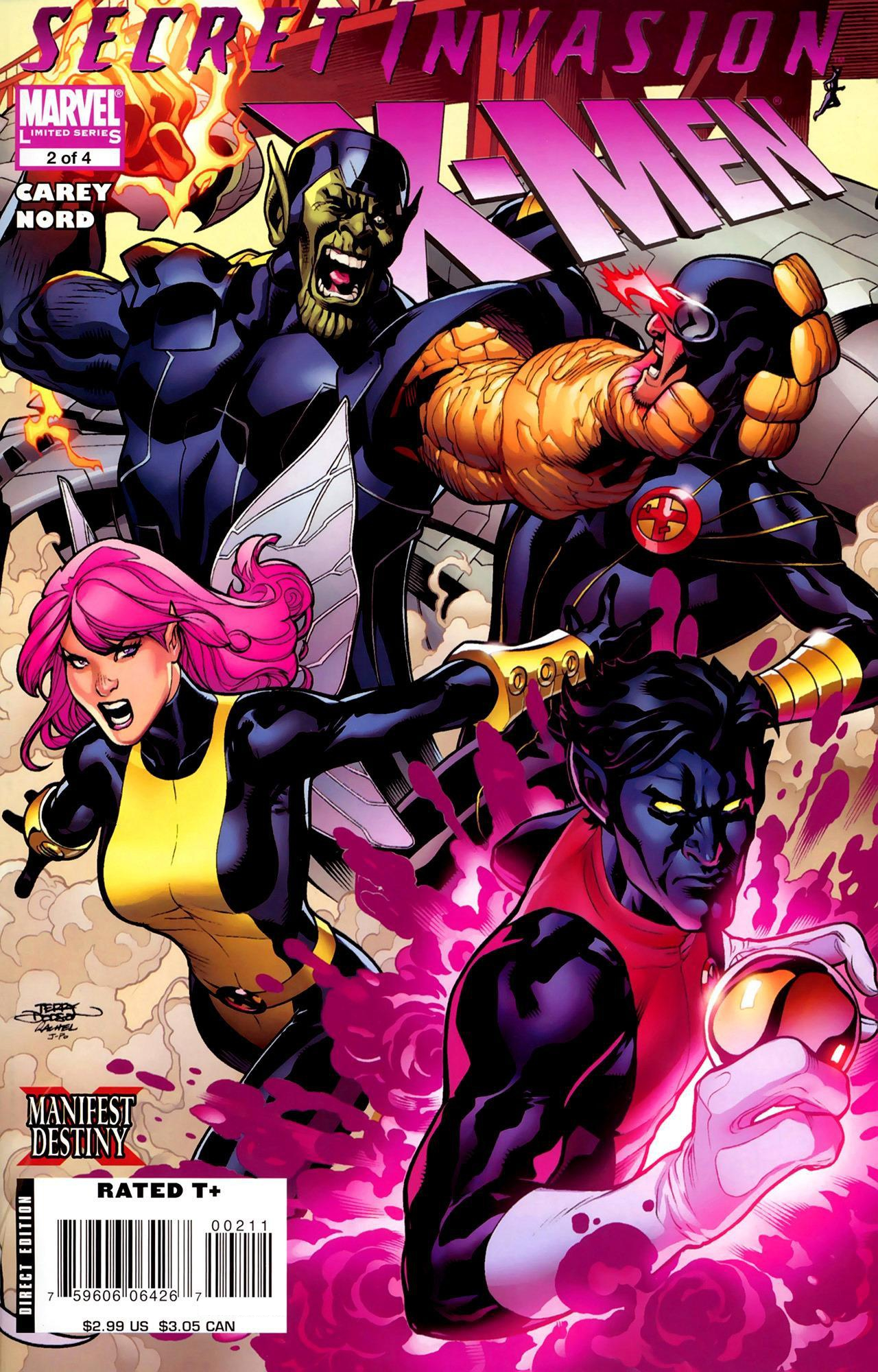 Secret Invasion: X-Men Vol 1 2