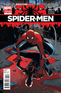 Spider-Men Vol 1 1 variant 1