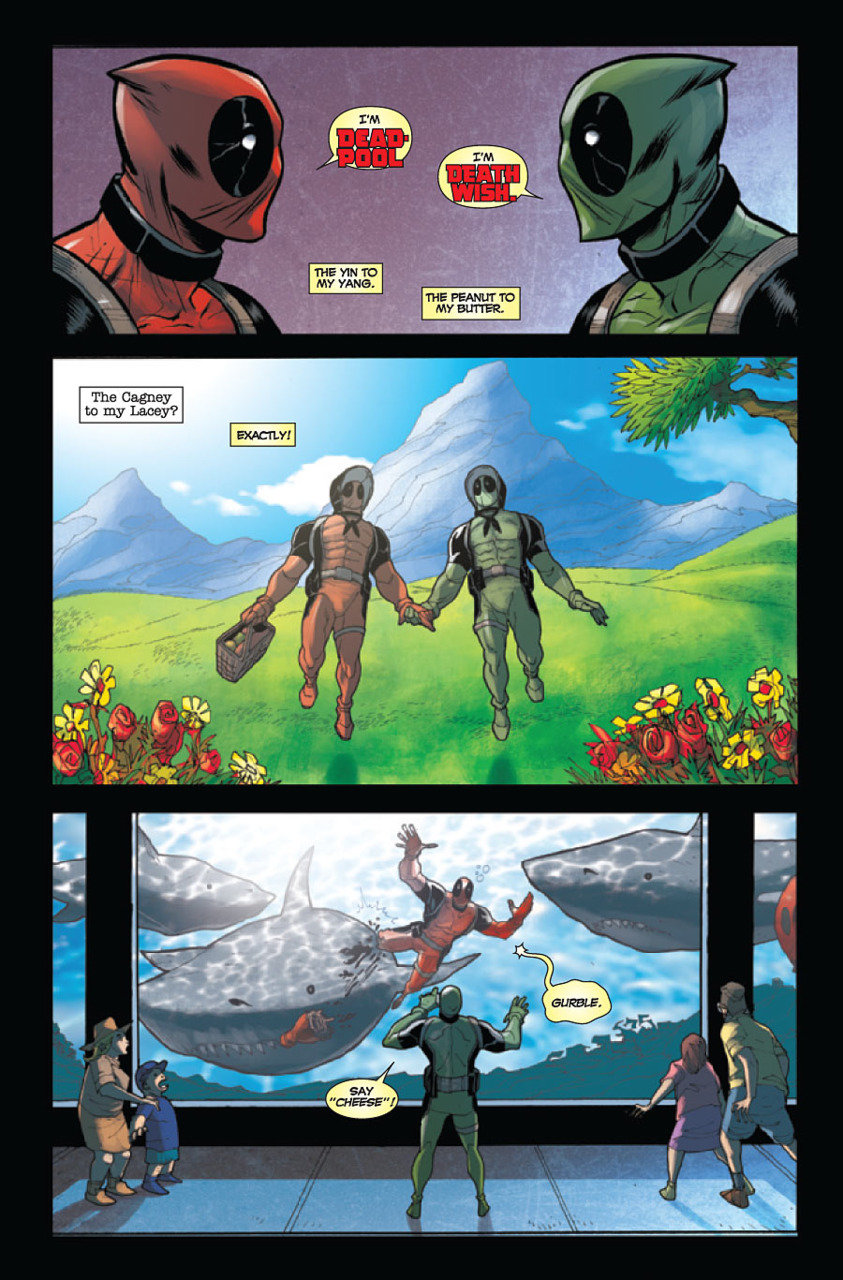 Wade Wilson (Earth-616) and Victor von Doom (Earth-11638) from Deadpool Annual Vol 1 1 0001.jpg