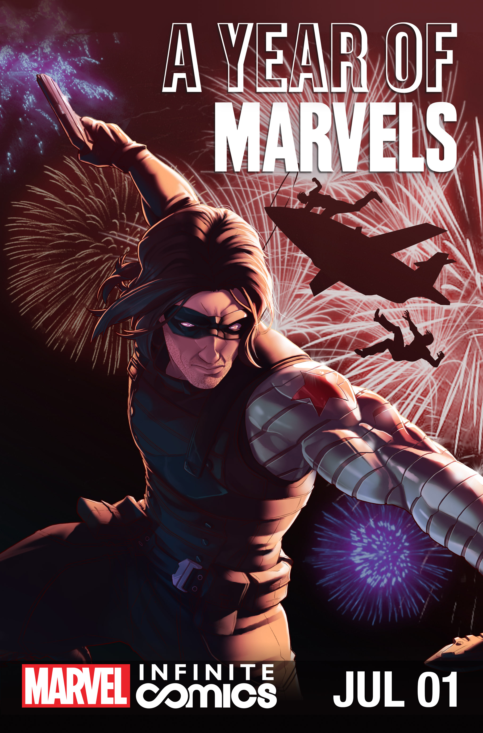 Year of Marvels: July Infinite Comic Vol 1 1