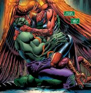 Bruce Banner (Earth-616) and Elizabeth Ross (Earth-616) from Immortal Hulk Vol 1 47 001