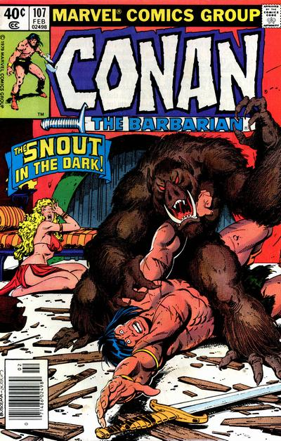 Conan the Barbarian Vol 1 107