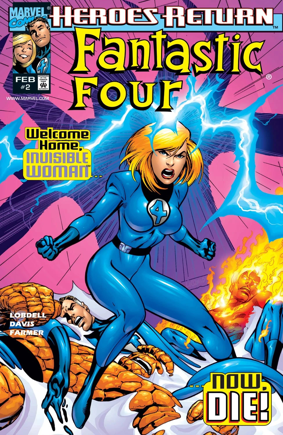 Fantastic Four Vol 3 2