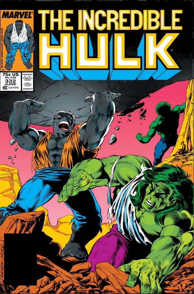 Incredible Hulk Vol 1 332
