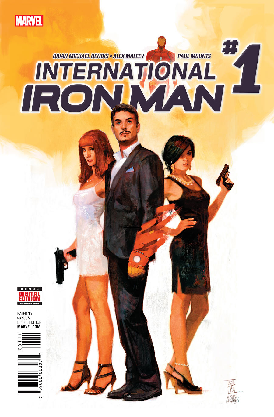 International Iron Man Vol 1 1