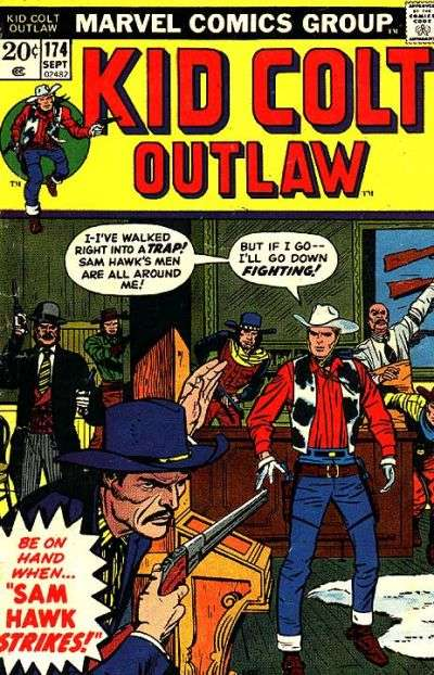 Kid Colt Outlaw Vol 1 174