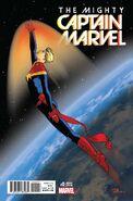 Mighty Captain Marvel Vol 1 0 Rosanas Variant