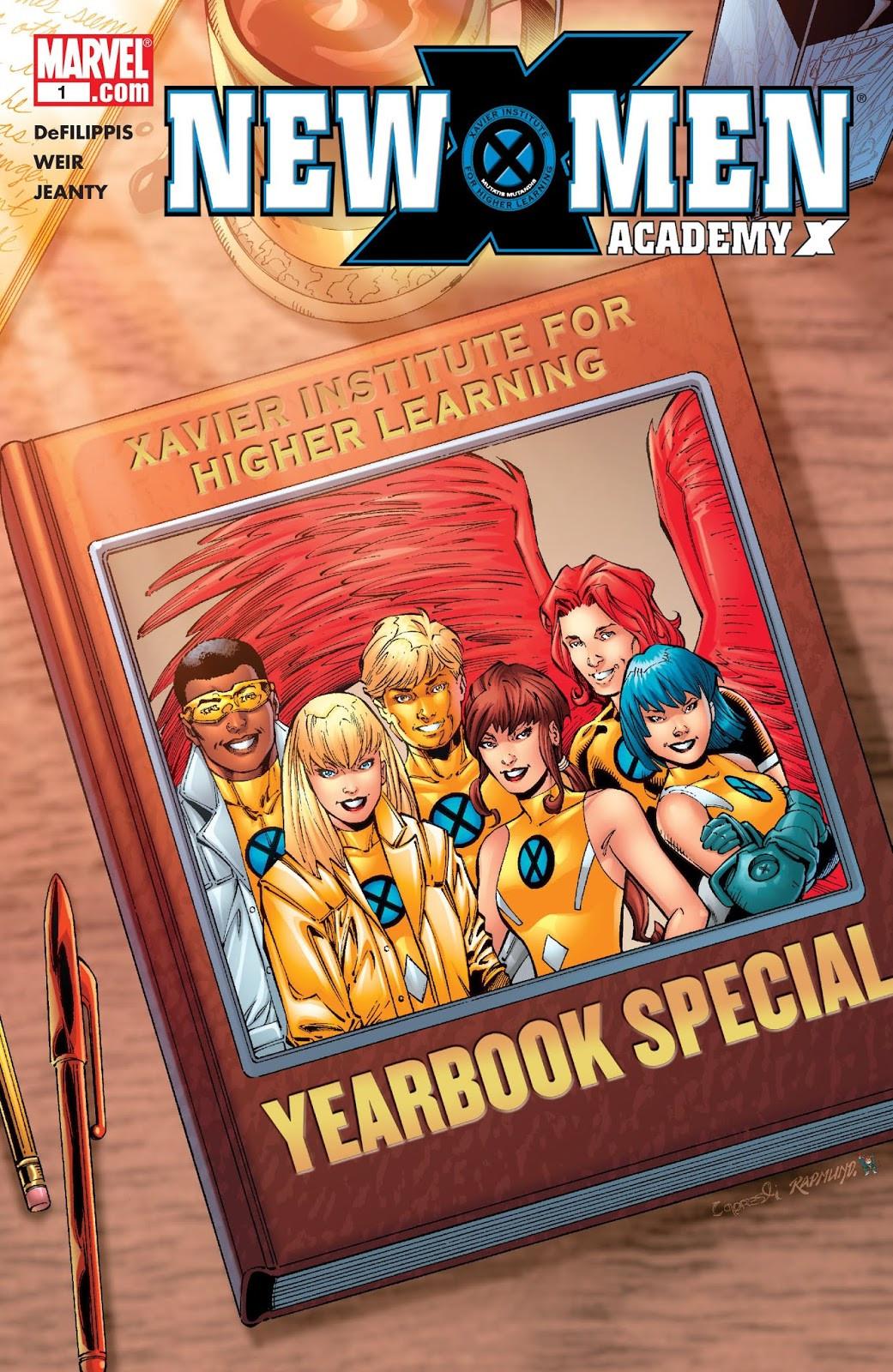 New X-Men: Academy X Yearbook Vol 1 1