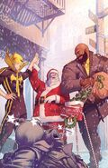 Power Man and Iron Fist Sweet Christmas Annual Vol 1 1 Textless
