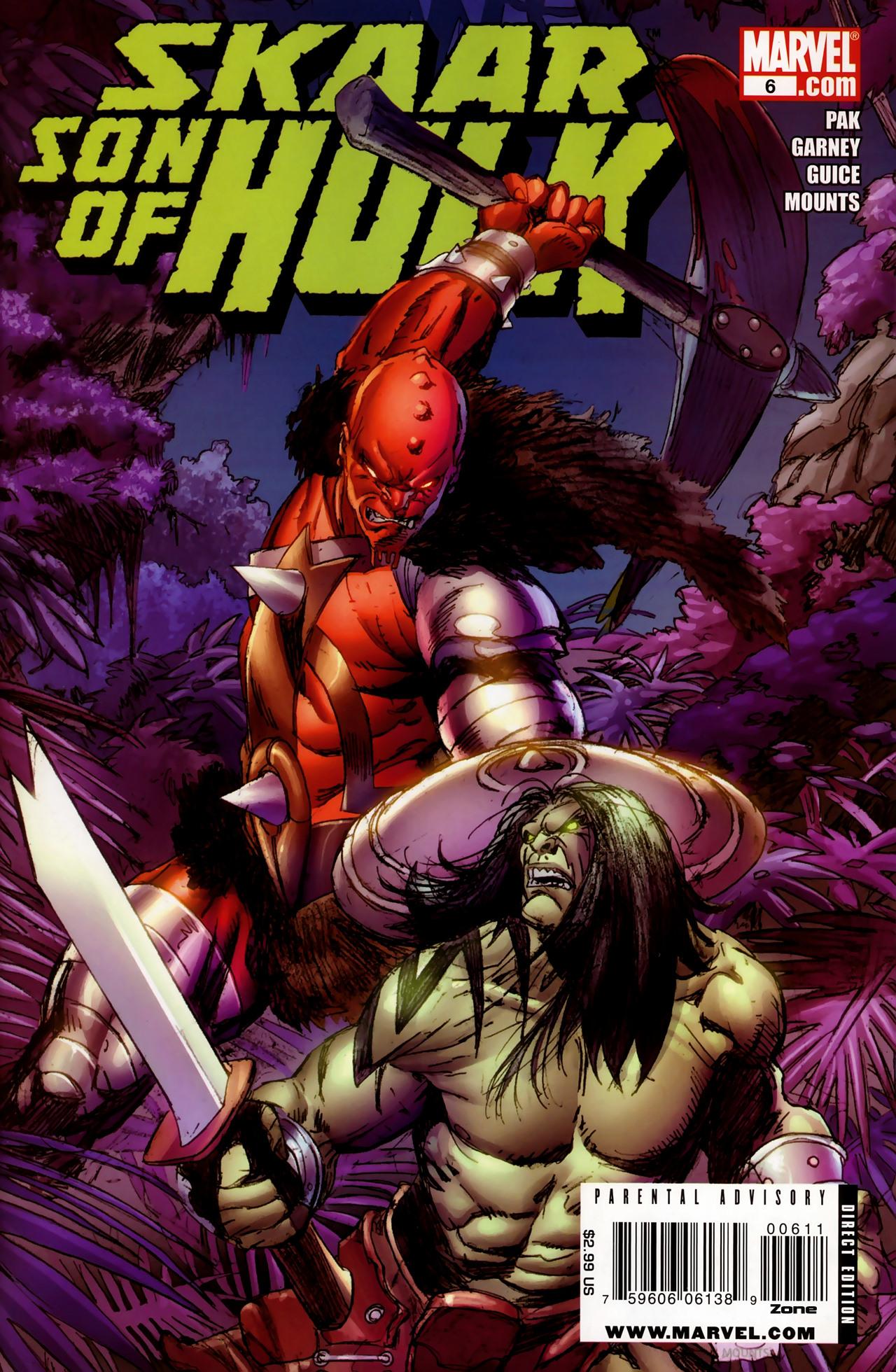 Skaar: Son of Hulk Vol 1 6