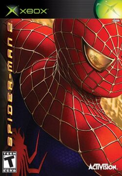 Spider-Man 2 (video game) X-Box cover.jpg