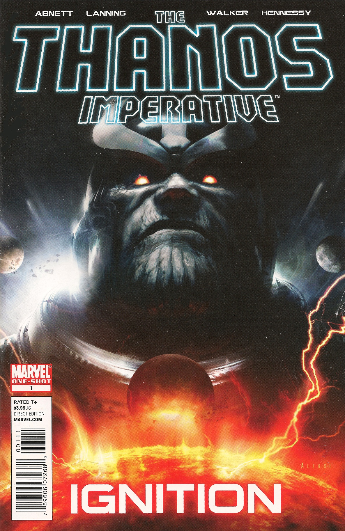 Thanos Imperative: Ignition Vol 1