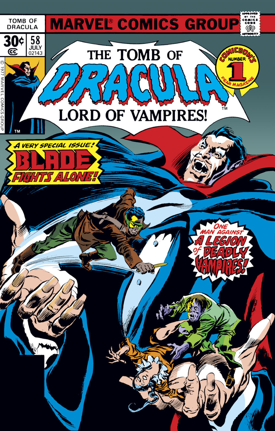 Tomb of Dracula Vol 1 58