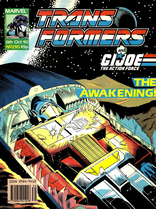 Transformers (UK) Vol 1 290