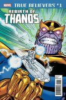 True Believers Rebirth of Thanos Vol 1 1