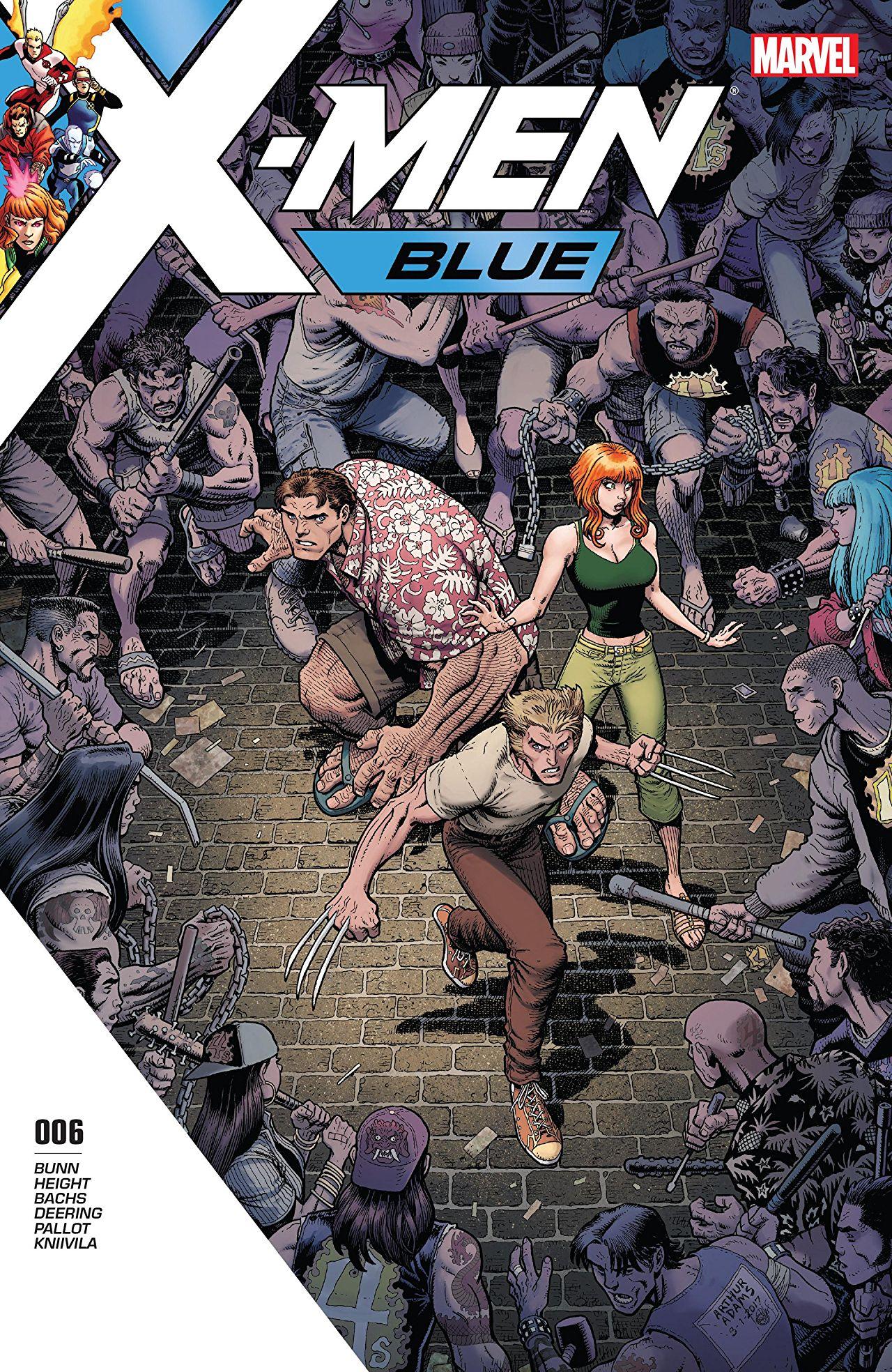 X-Men: Blue Vol 1 6