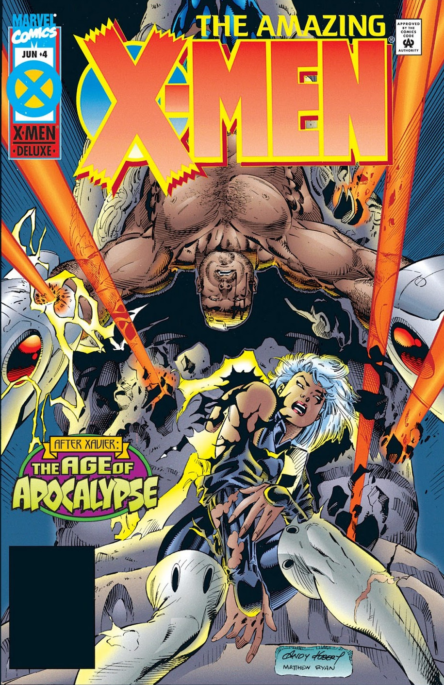 Amazing X-Men Vol 1 4