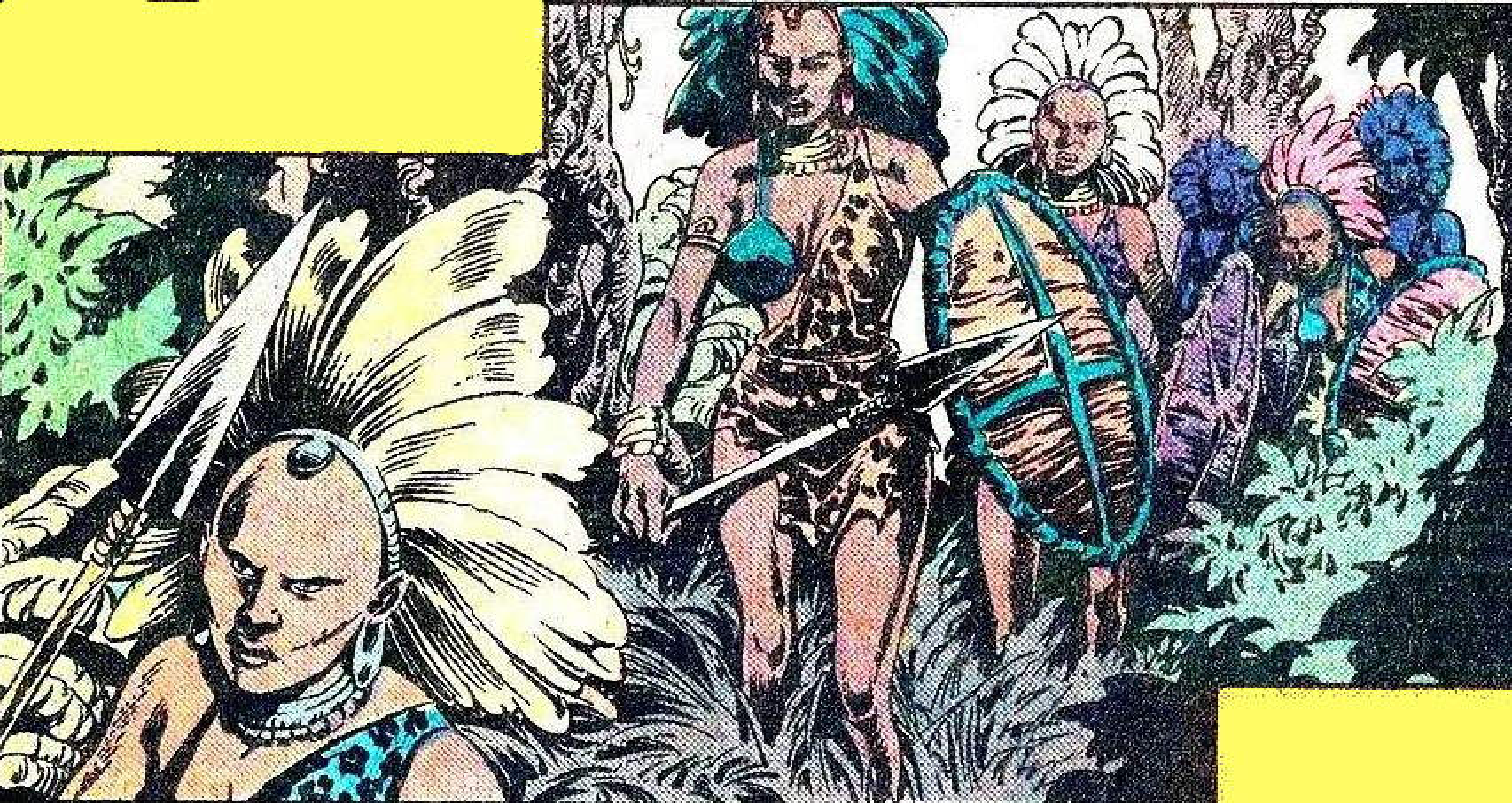 Amazons (Gamburu) (Earth-616)/Gallery
