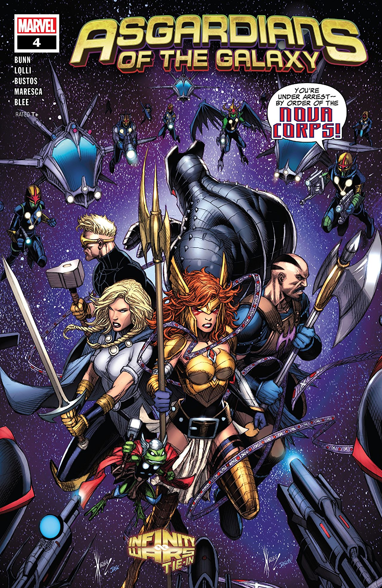 Asgardians of the Galaxy Vol 1 4
