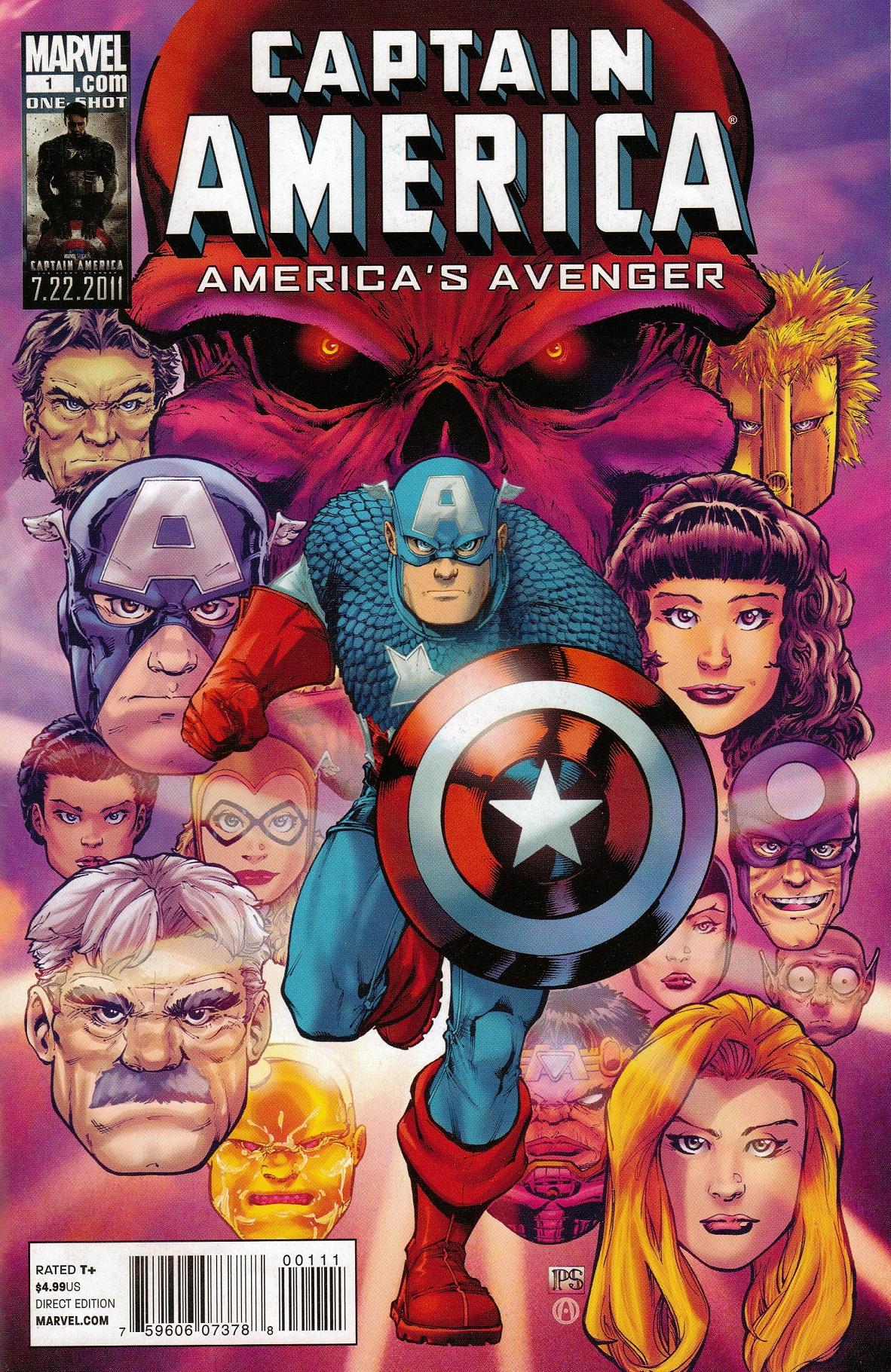Captain America: America's Avenger Vol 1 1