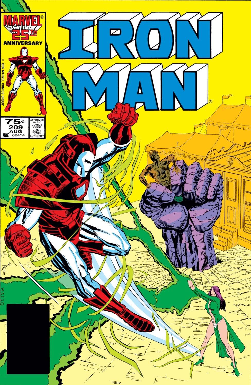 Iron Man Vol 1 209
