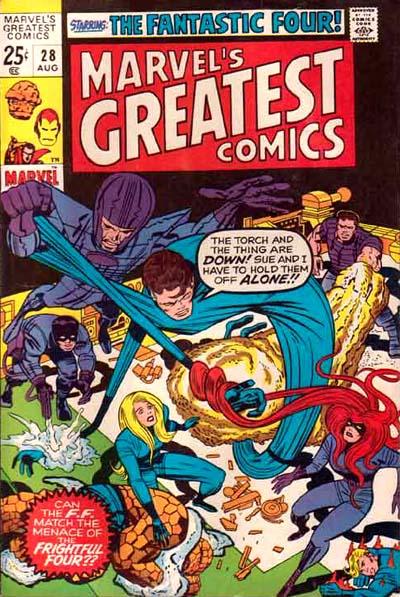 Marvel's Greatest Comics Vol 1 28