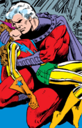 Max Eisenhardt (Earth-616) and Katherine Pryde (Earth-616) from Uncanny X-Men vol 1 150 001