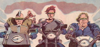 Outriders (Earth-616)/Gallery