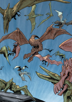 Pterosaurs from Secret Empire Underground Vol 1 1 001.png