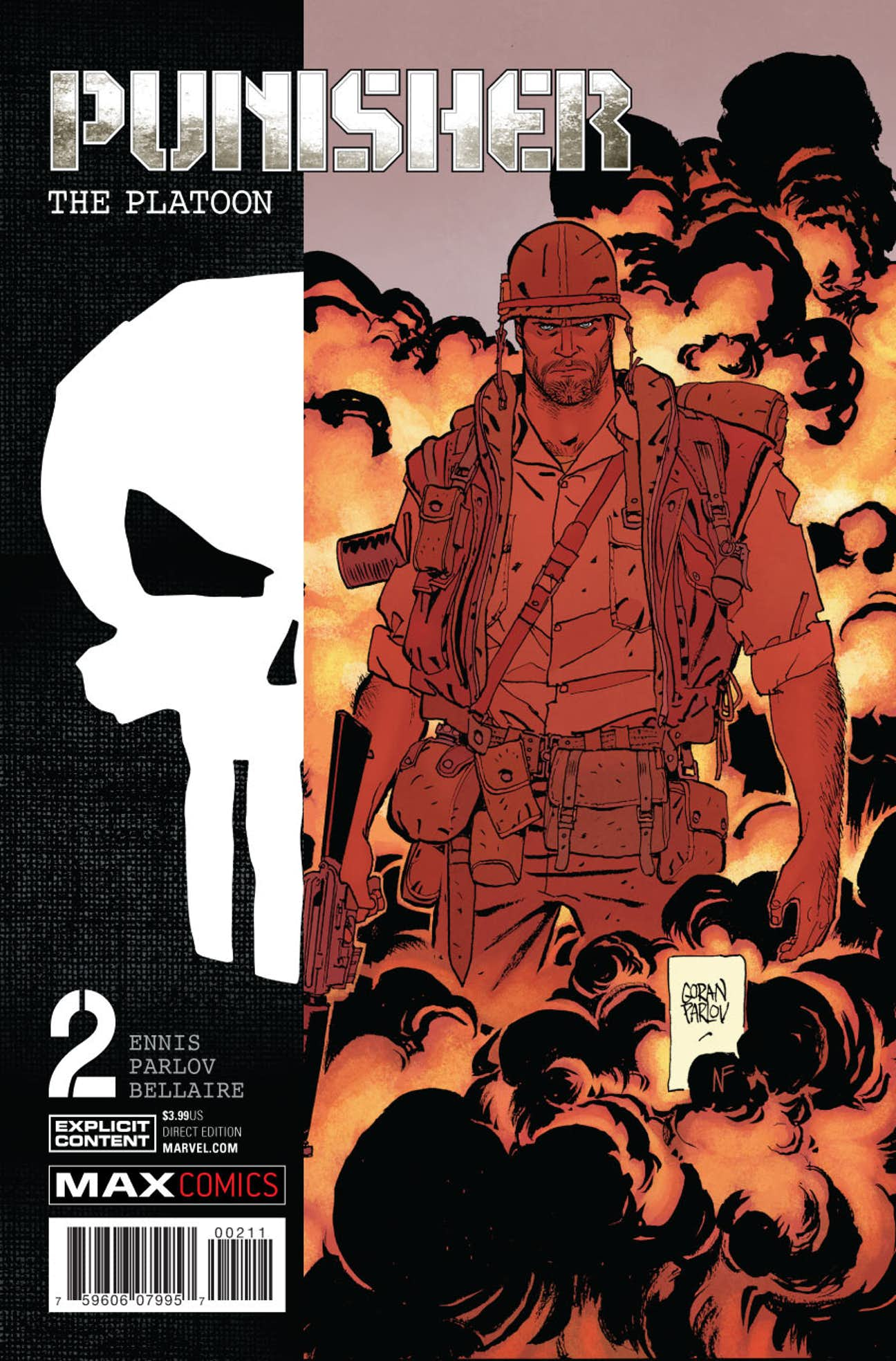 Punisher MAX: The Platoon Vol 1 2