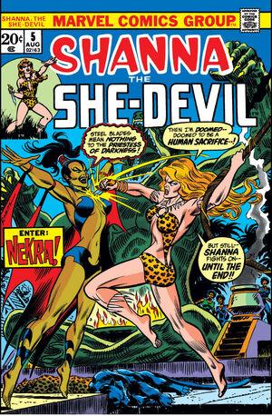 Shanna, The She-Devil Vol 1 5.jpg