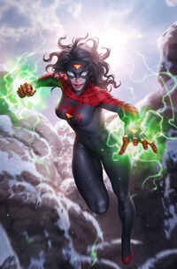 Spider-Woman Vol 7 5 Cover B Textless