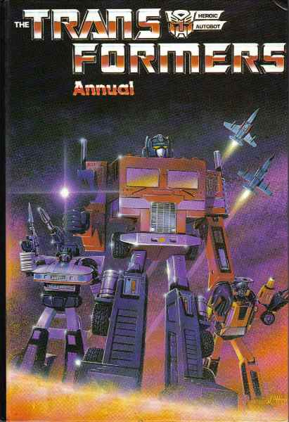 Transformers Annual (UK) Vol 1