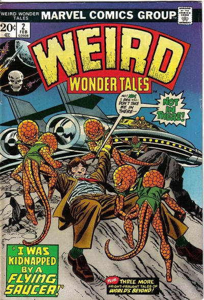 Weird Wonder Tales Vol 1 2