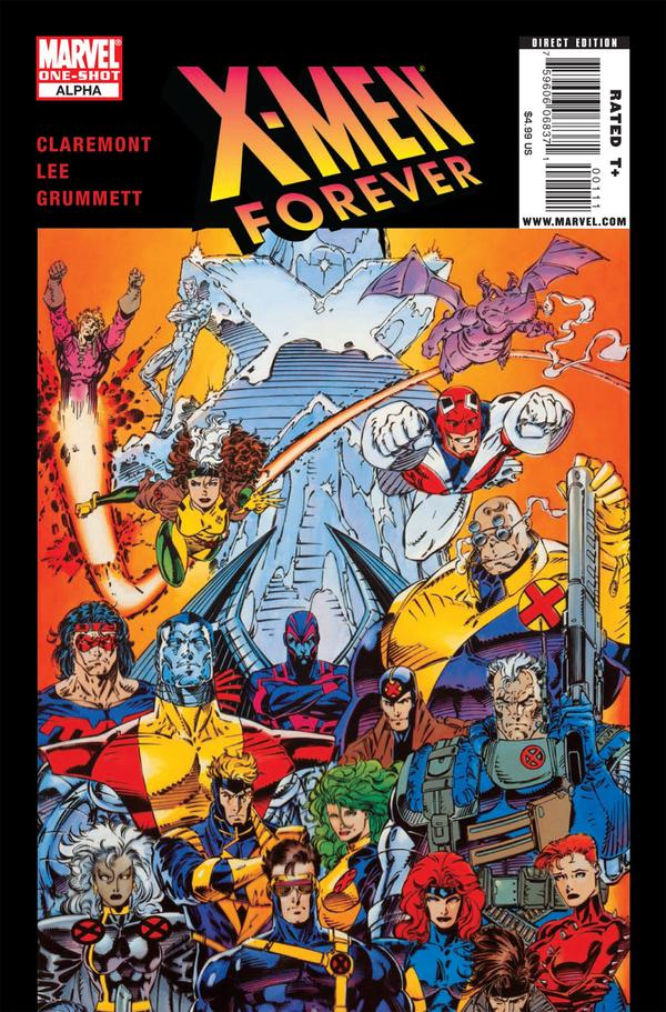 X-Men Forever: Alpha Vol 1 1