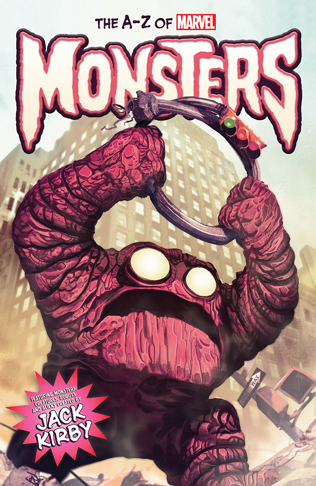 A-Z of Marvel Monsters Vol 1 1