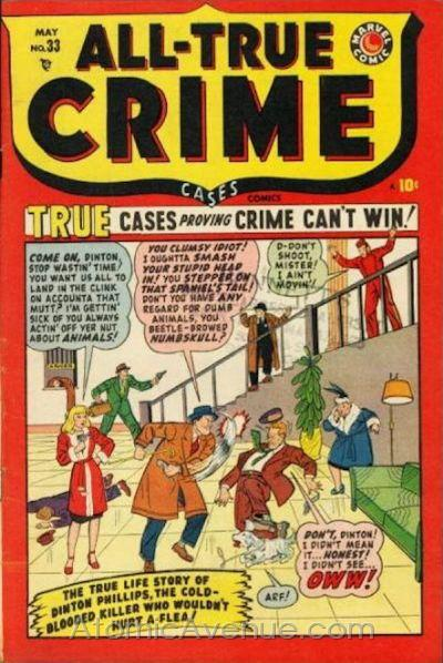All True Crime Cases Comics Vol 1 33