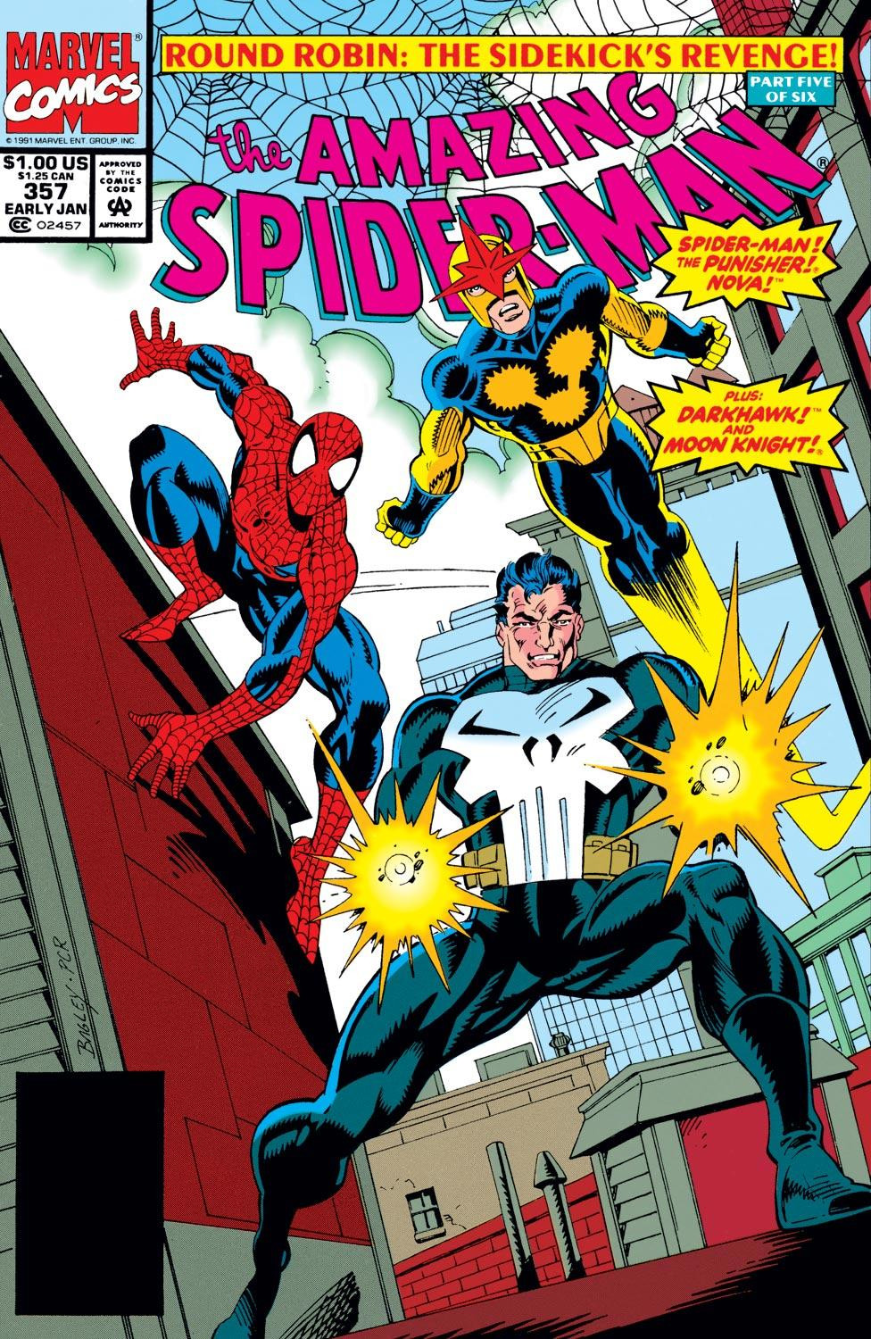 Amazing Spider-Man Vol 1 357