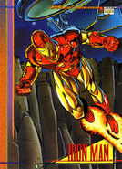 Anthony Stark (Earth-616) from Marvel Universe Cards Series IV 0001